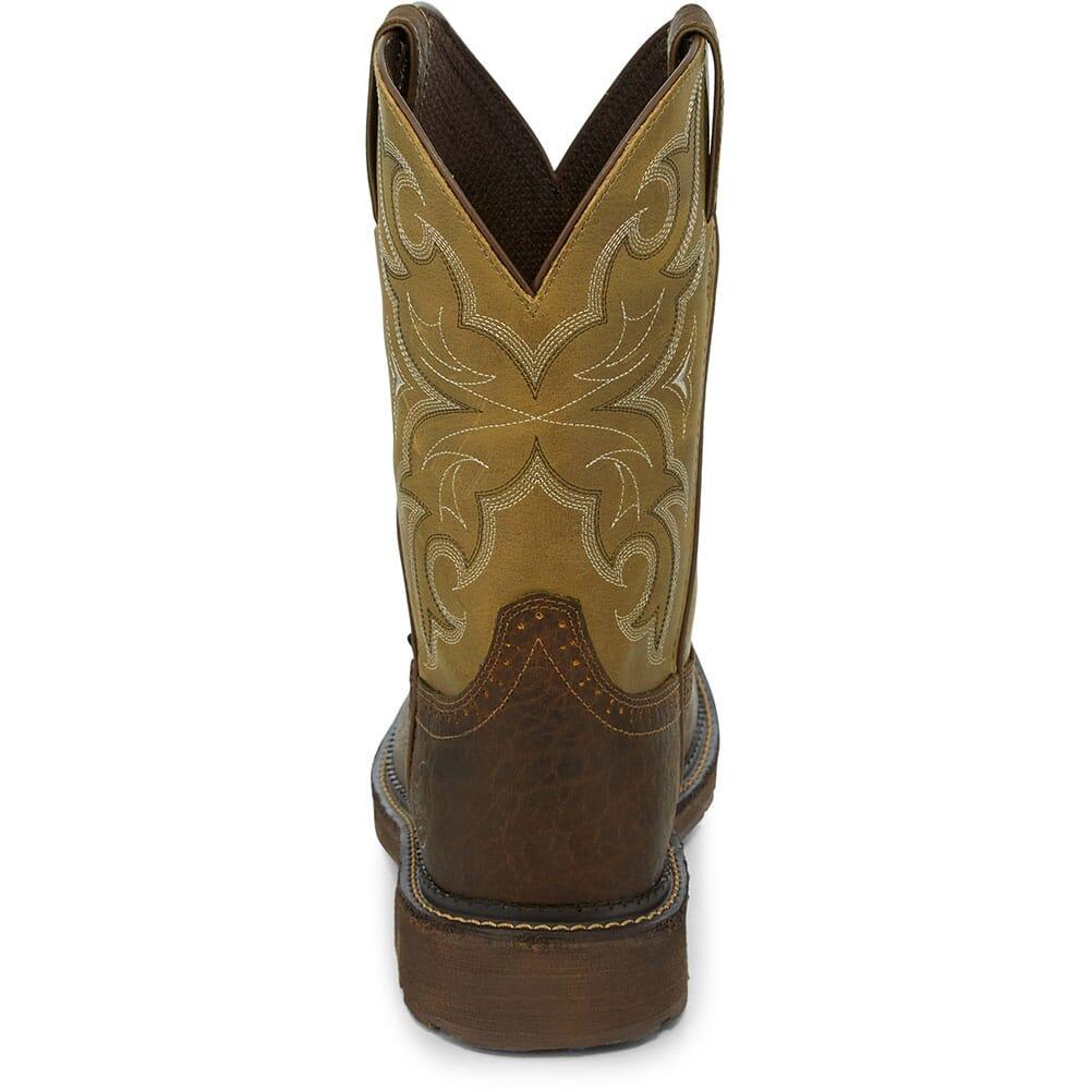 Justin Original Men's Amarillo Safety Boots - Cactus