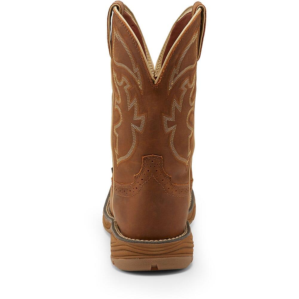 Justin Original Men's Stampede Rush WP Work Boots - Rustic Tan