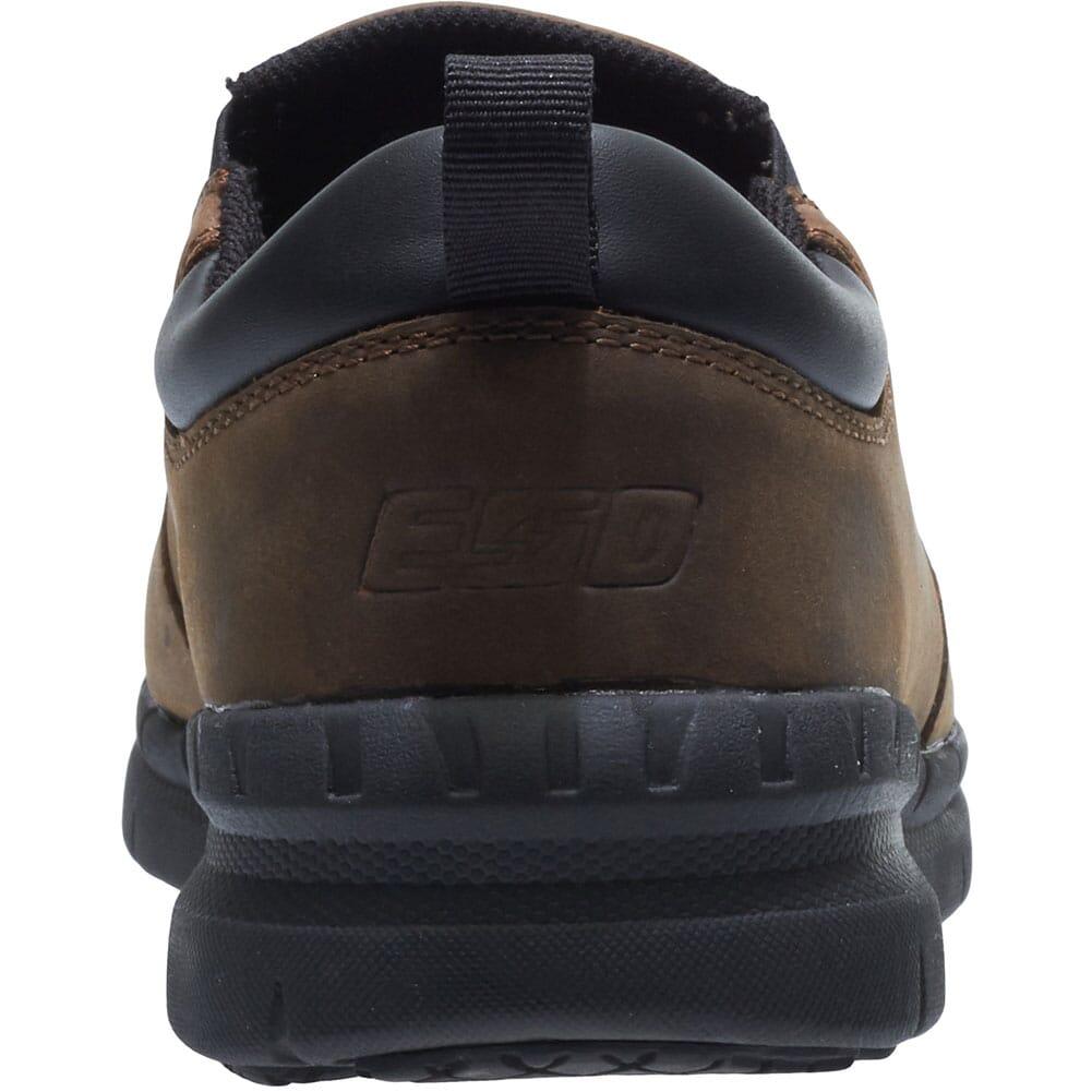 Hytest Men's Carbon Nano Toe Safety Slip On - Brown