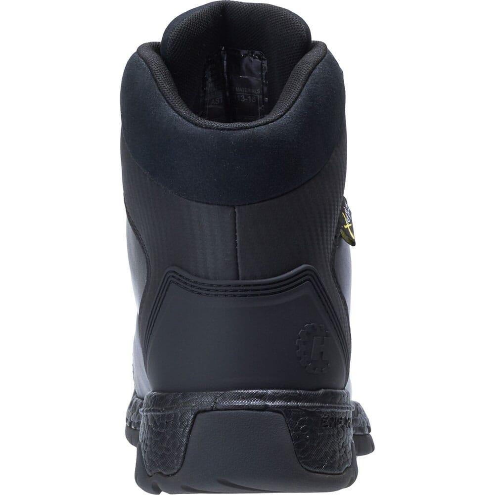 Footrests by Hytest Men's 2.0 Rebound Met Guard WP Safety Boots - Black