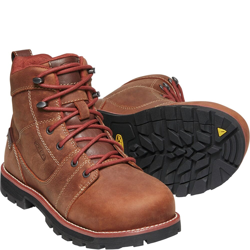 1022085 KEEN Utility Women's Seattle WP Safety Boots - Gingerbread