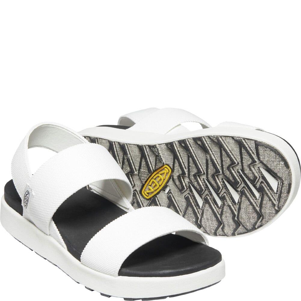 1024719 KEEN Women's Elle Backstrap Sandals - White