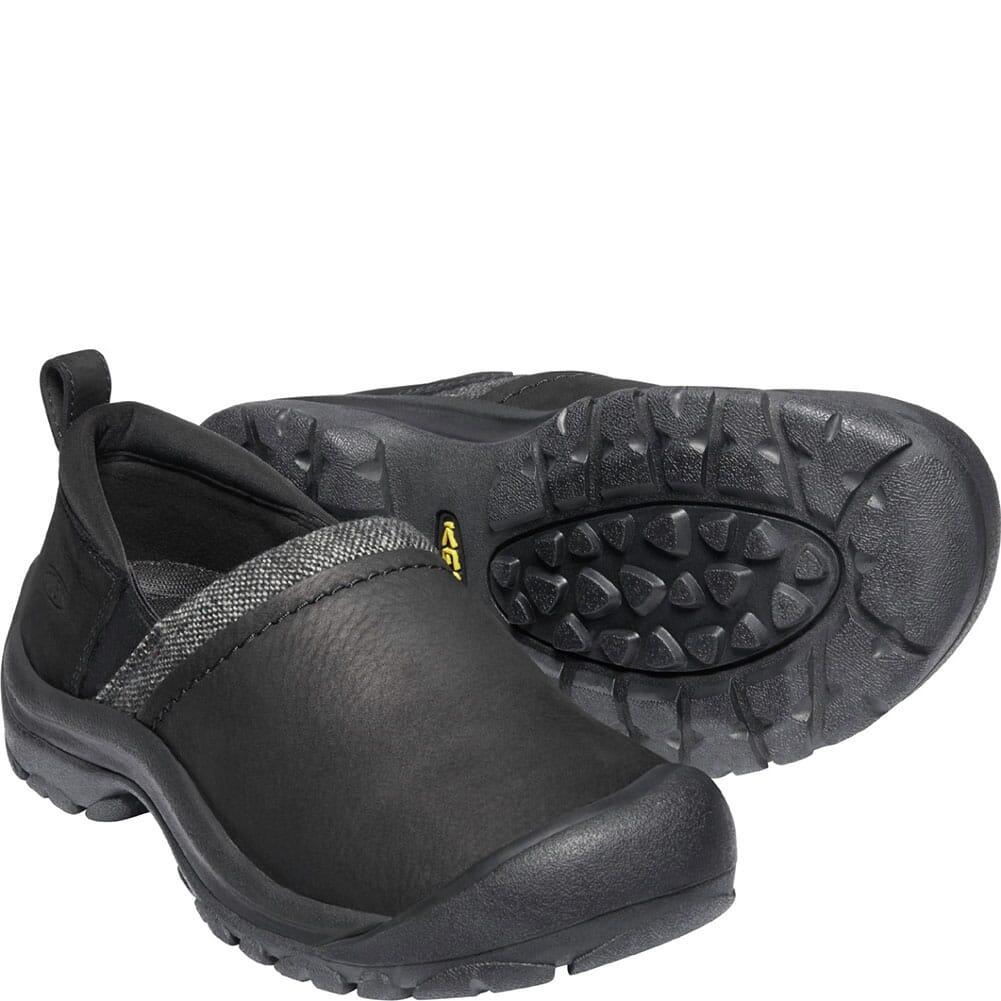 1023596 KEEN Women's Kaci II WP Insulated Casual Slip-On - Black/Black