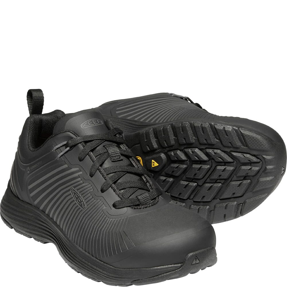 1024196 KEEN Utility Women's Sparta XT EH Safety Shoes - Black