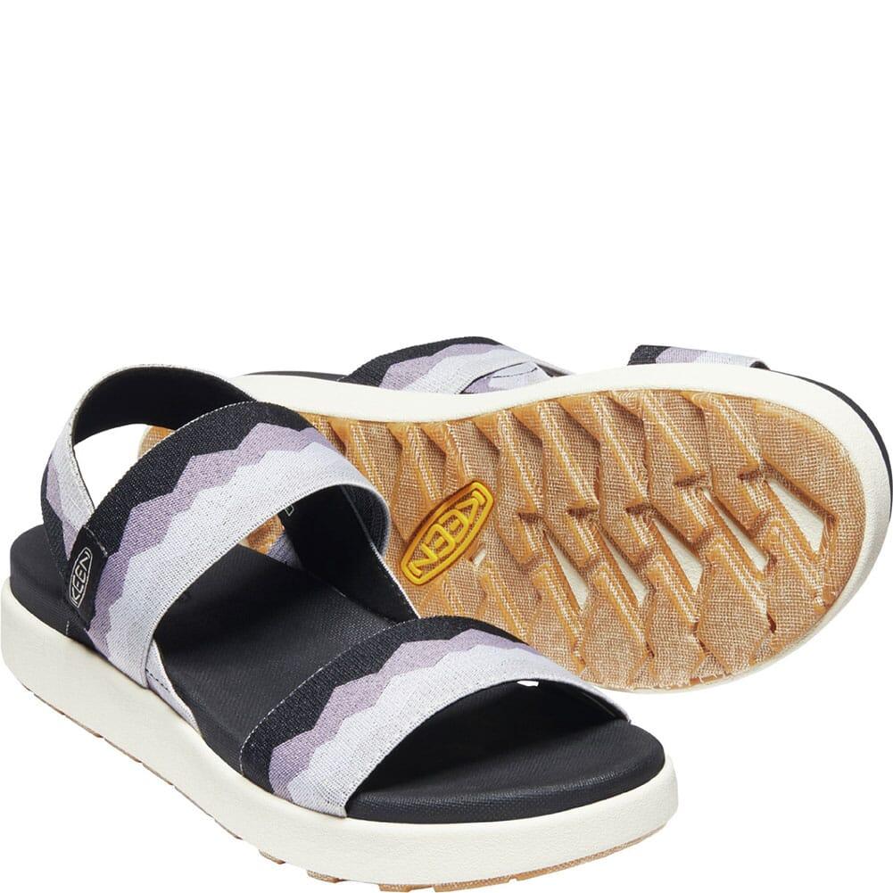 1024714 KEEN Women's Elle Backstrap Sandals - Black/Thistle