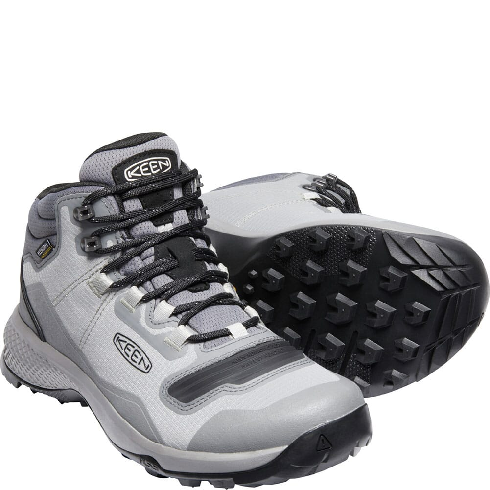 1024855 KEEN Men's Tempo Flex WP Hiking Boots - Drizzle/Black