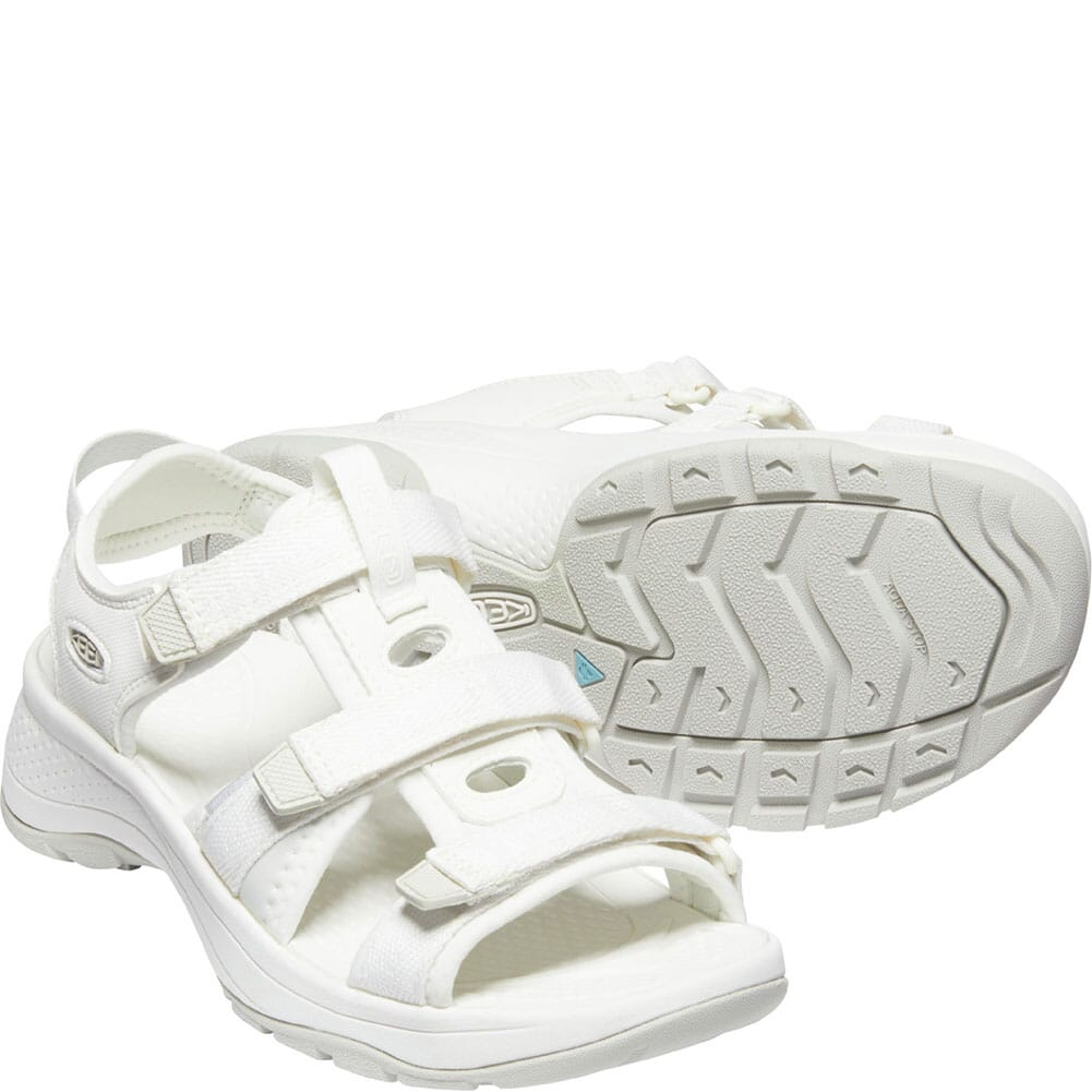 1024870 KEEN Women's Astoria West Open Toe Sandals - White