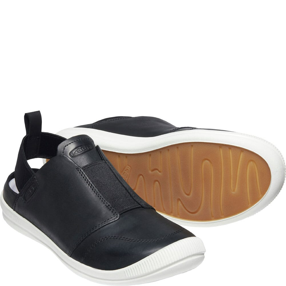 1024940 KEEN Women's Lorelai II Slip-On Sandals - Black/Black Iris
