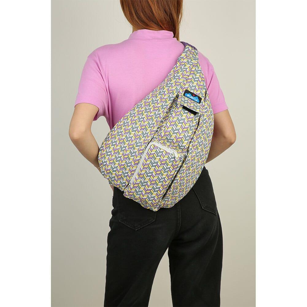 923-1412 Kavu Women's Rope Bag - Itty Bitty Chevron