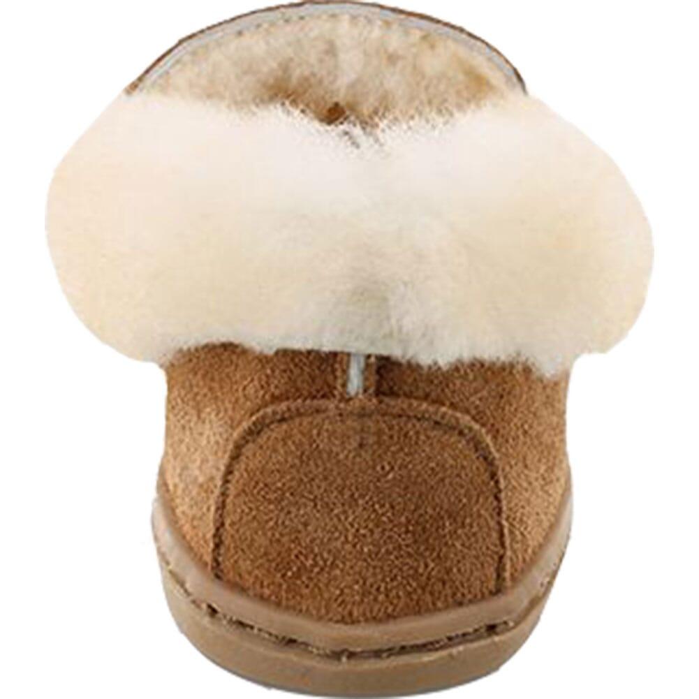 3372 Minnetonka Women's Alpine Sheepskin Moccasins - Tan