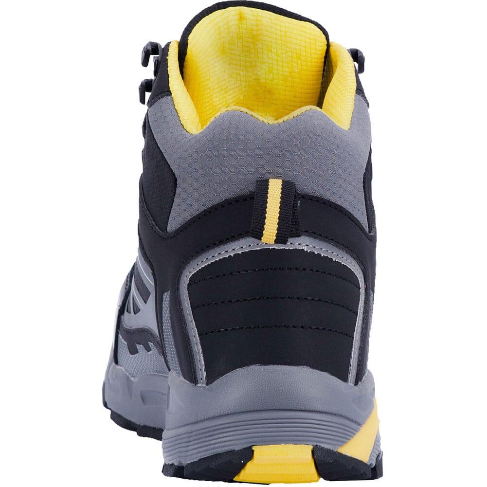 McRae Men's Rebar WP Safety Boots - Black/Yellow