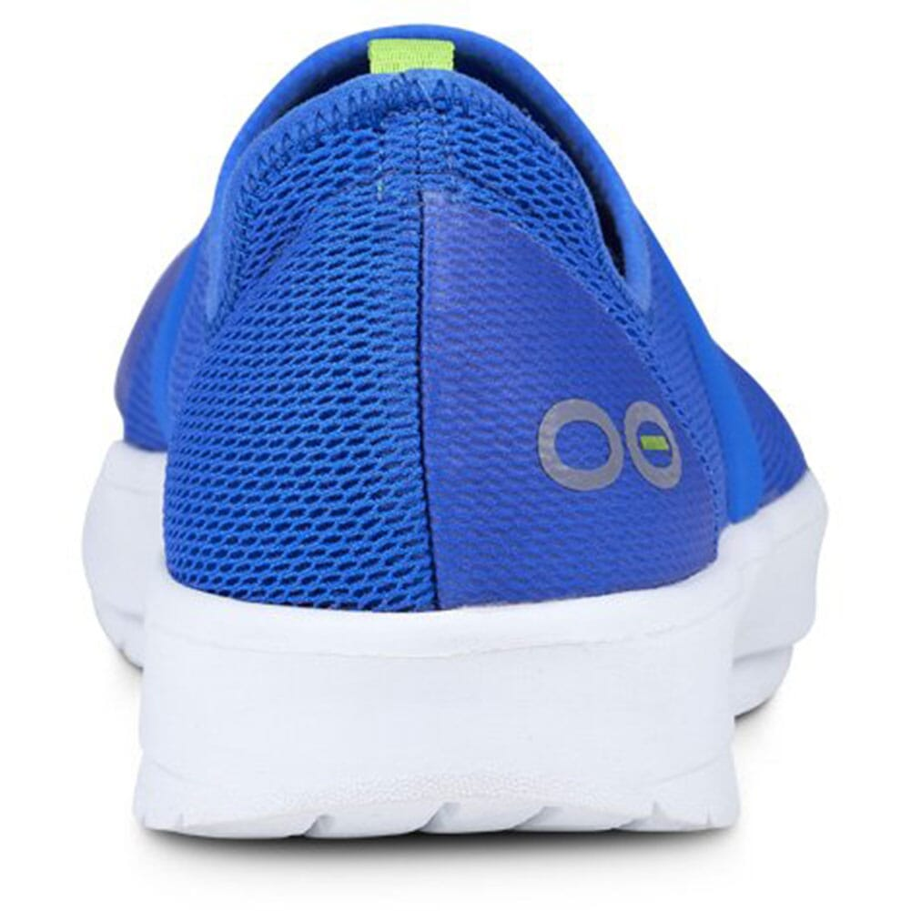 OOFOS Women's OOMG Casual Shoes - White/Blue