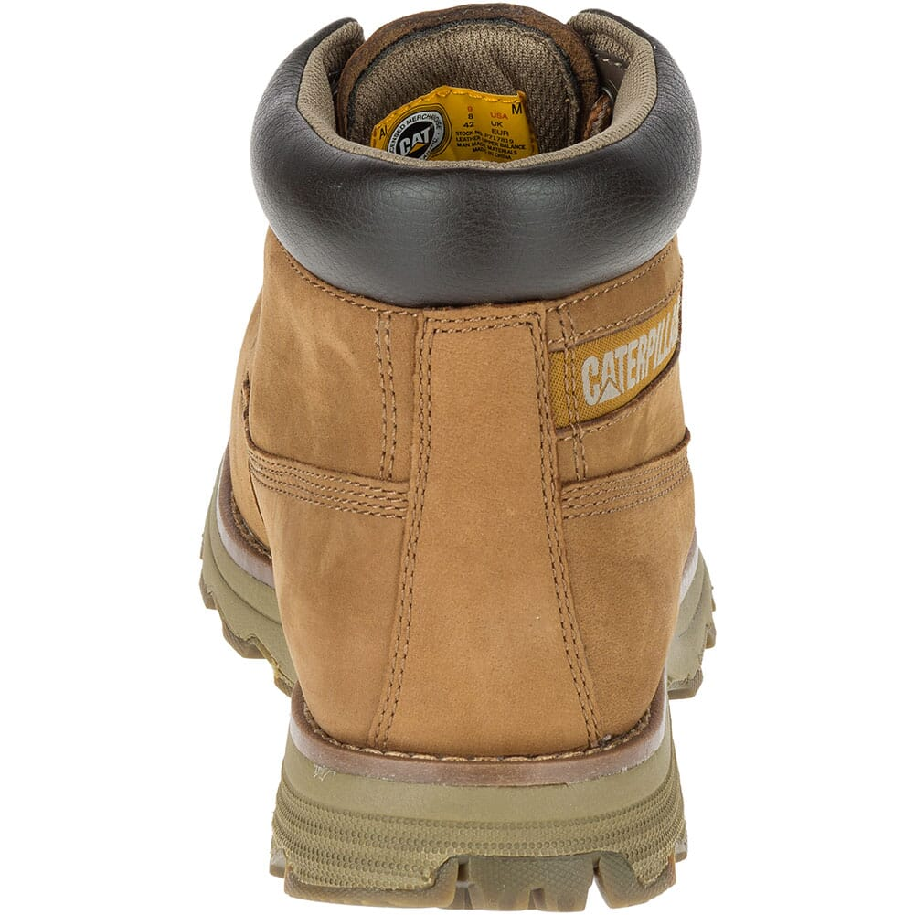 Caterpillar Men's Founder Safety Boots - Nubuck Bronze
