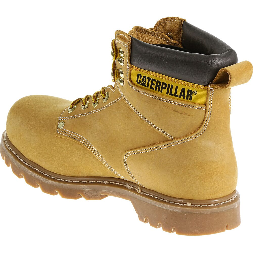 Caterpillar Men's Second Shift Safety Boots - Honey