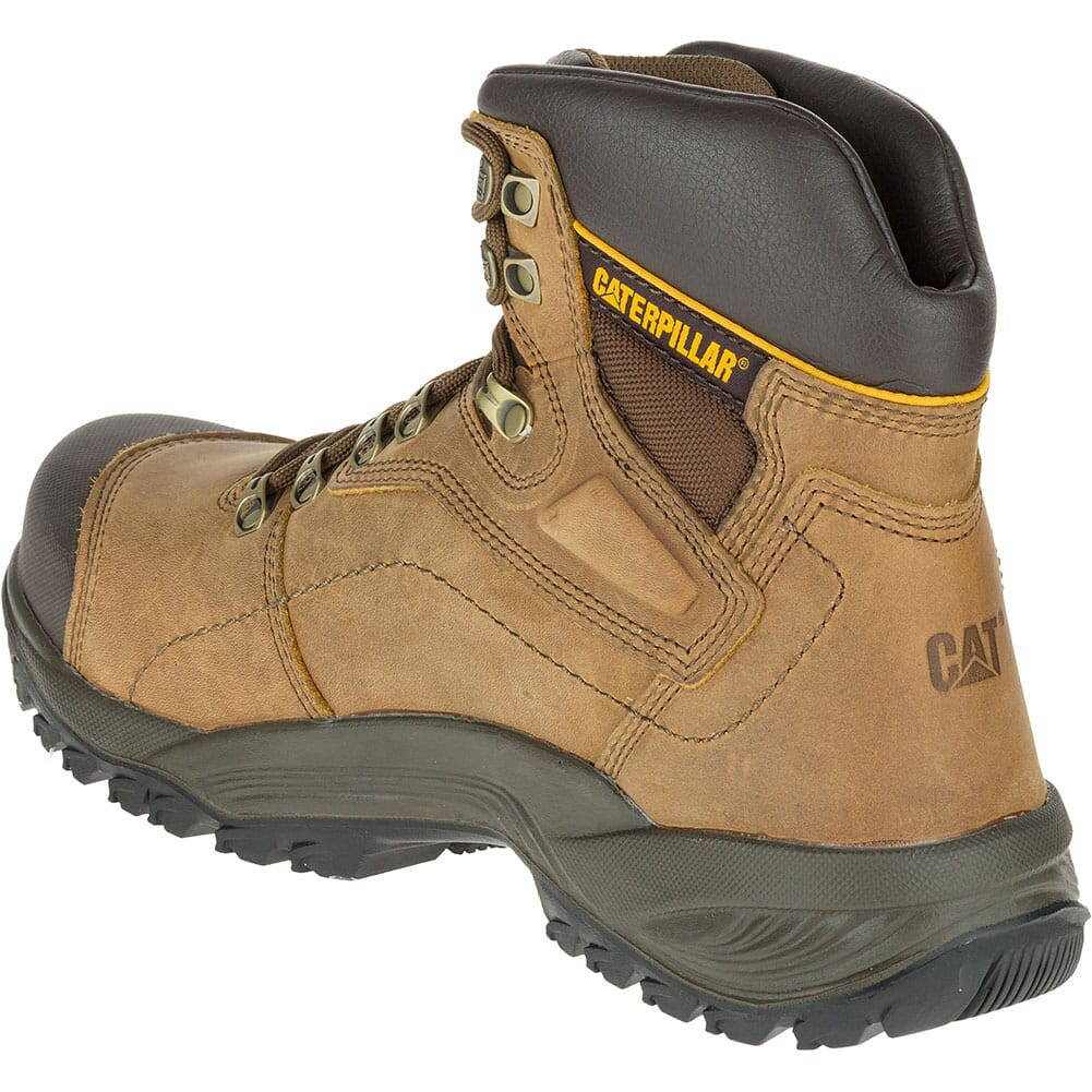 Caterpillar Men's Diagnostic Safety Boots - Dark Beige
