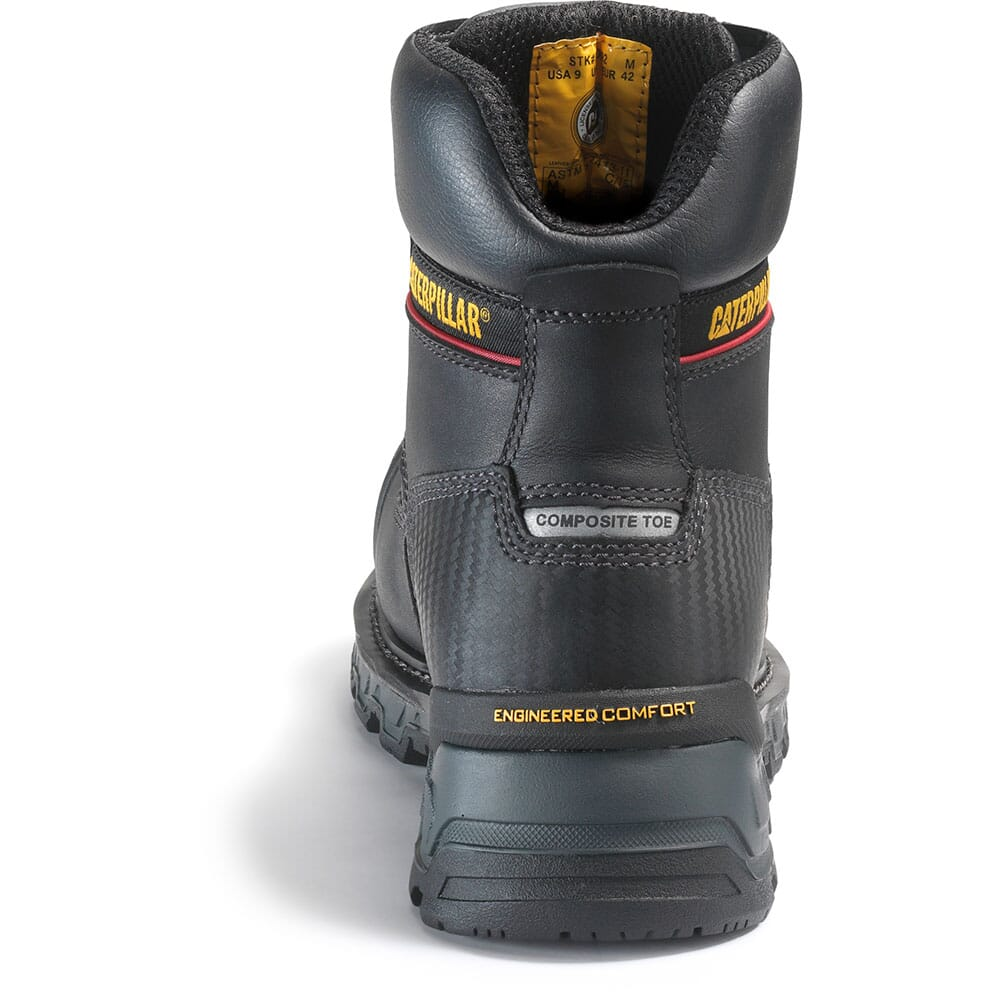 Caterpillar Men's Excavator XL Safety Boots - Black