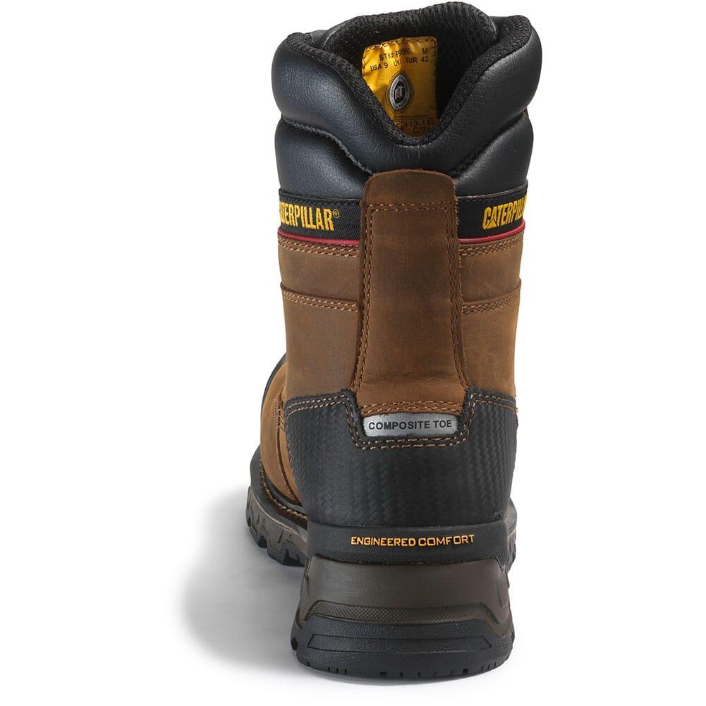 Caterpillar Men's Excavator XL WP Safety Boots - Dark Brown