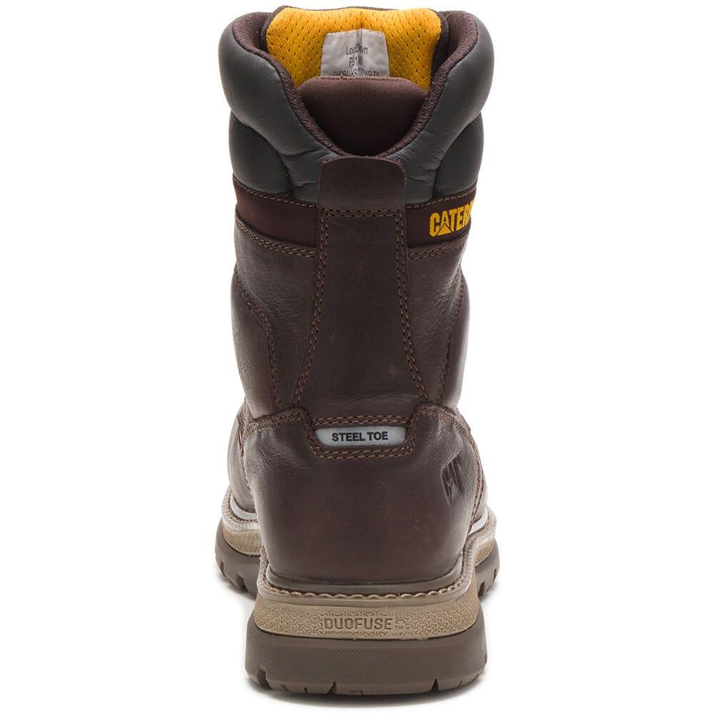 91081 Caterpillar Men's Fairbanks WP TX Steel Toe Safety Boots - Mulch