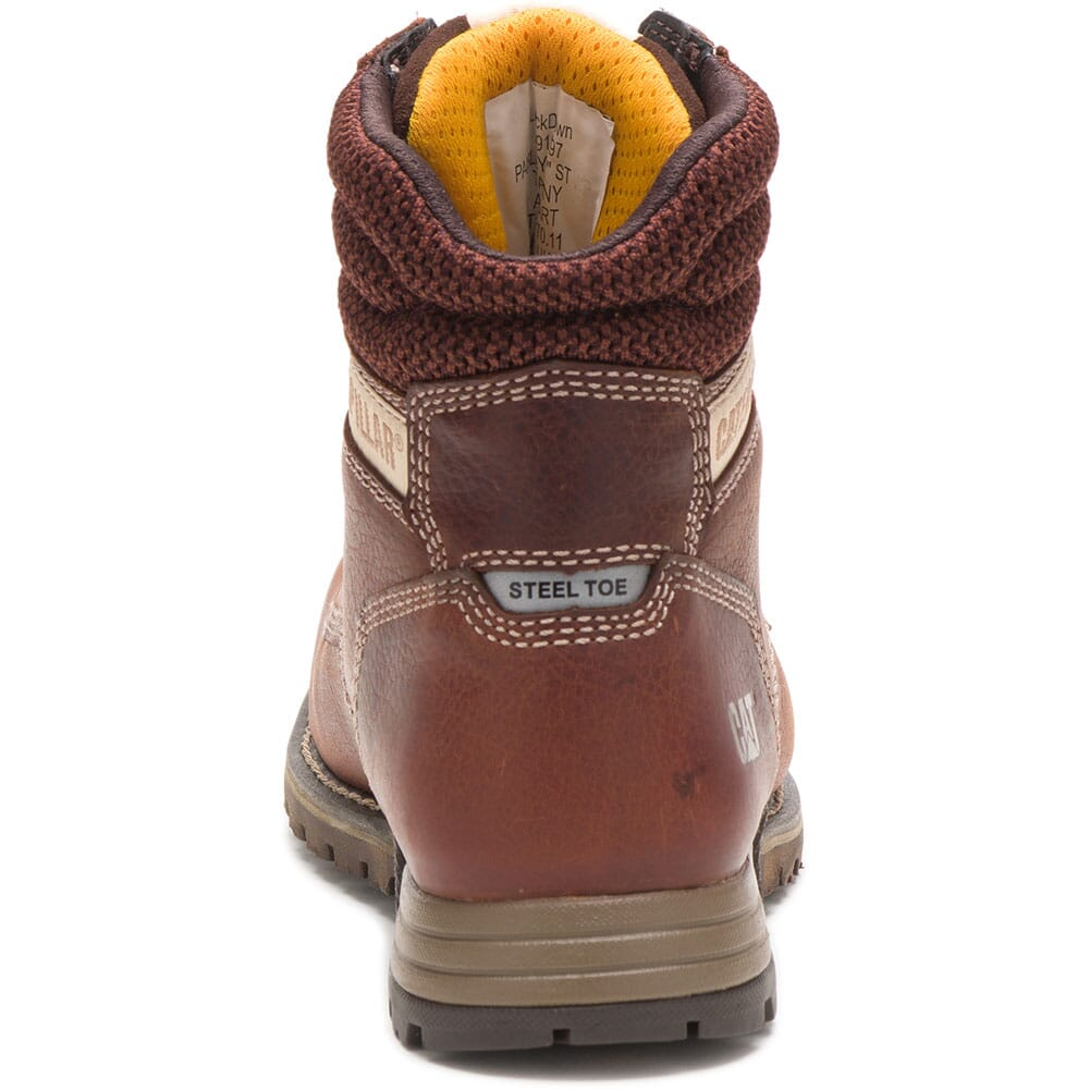 91097 Caterpillar Women's Paisley Steel Toe Safety Boots - Tawney