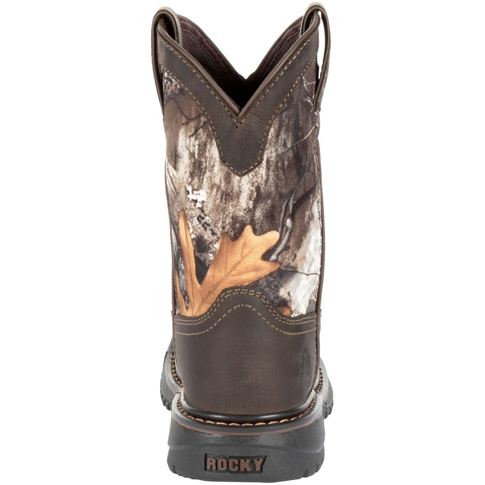 Rocky Kid's Ride FLX WP Western Boots - Realtree Camo