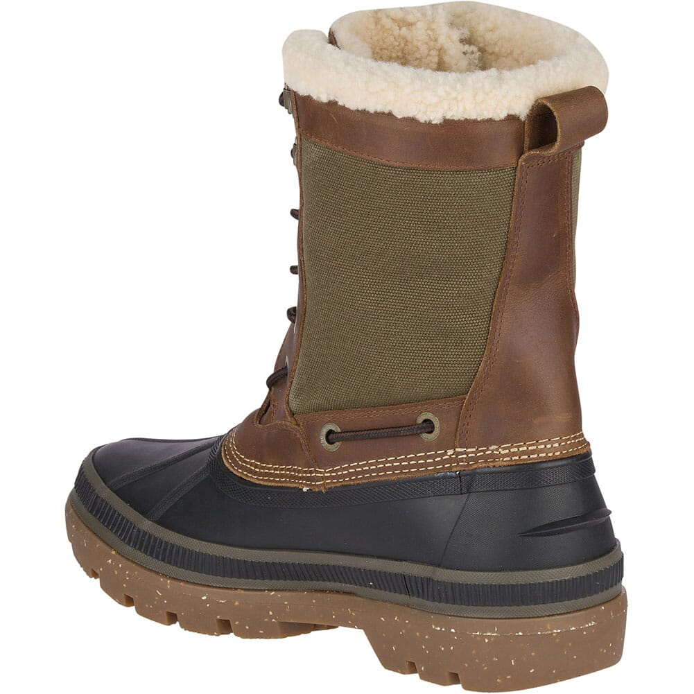 Sperry Men's Ice Bay Tall Pac Boots - Brown/Olive