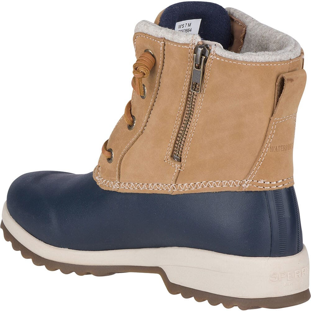 Sperry Women's Maritime Repel Snow Pac Boots - Tan/Navy