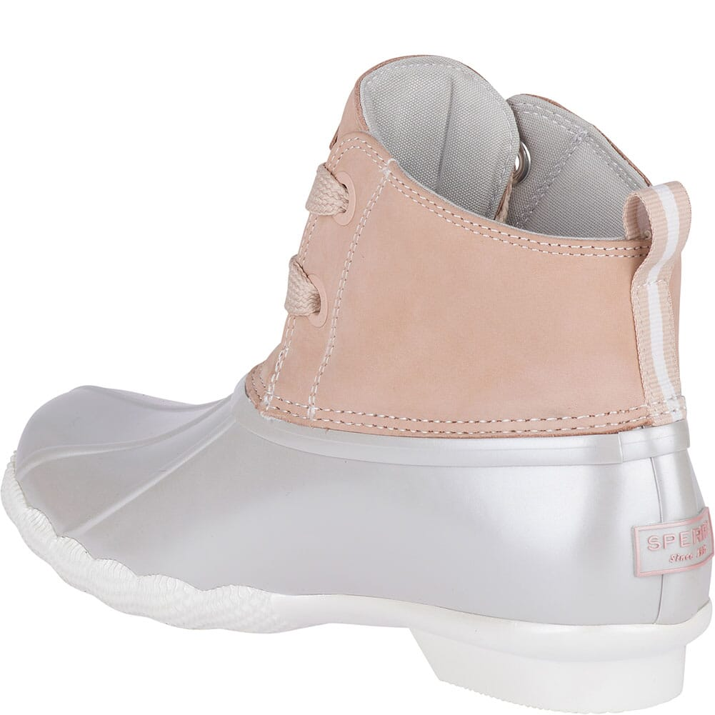 Sperry Women's Saltwater 2-Eye Duck Boots - Blush/Grey