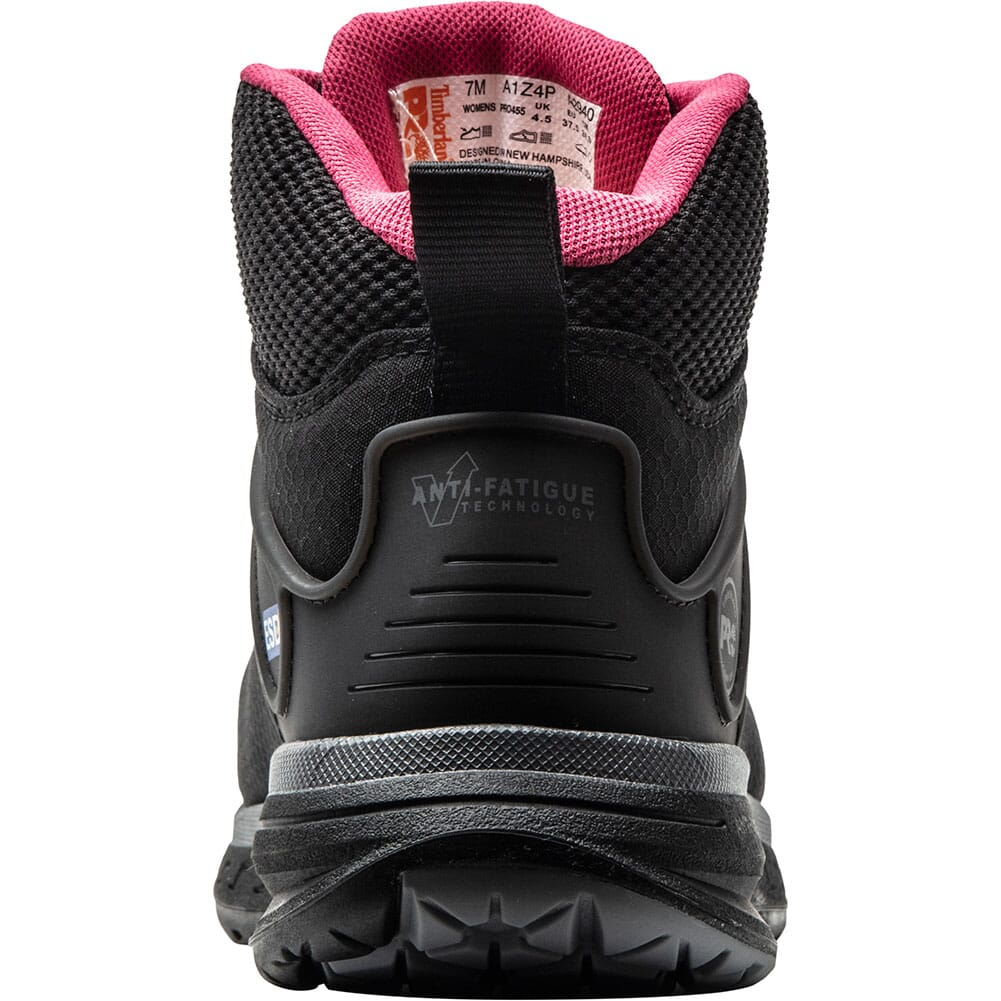 A1Z4P001 Timberland Pro Women's Drivetrain SD35 Safety Shoes - Black/Pink