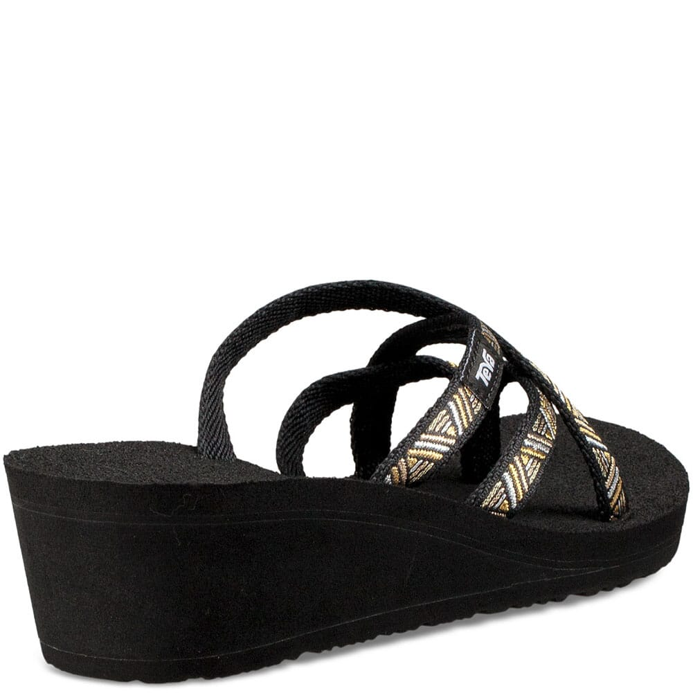 Teva Women's Mush Mandalyn Wedge OLA 2 Flip Flops - Agave Black