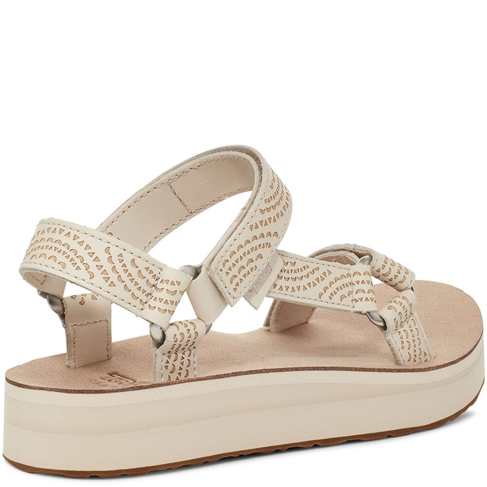 1090873-WSW Teva Women's Midform Universal Sandals - White Swan