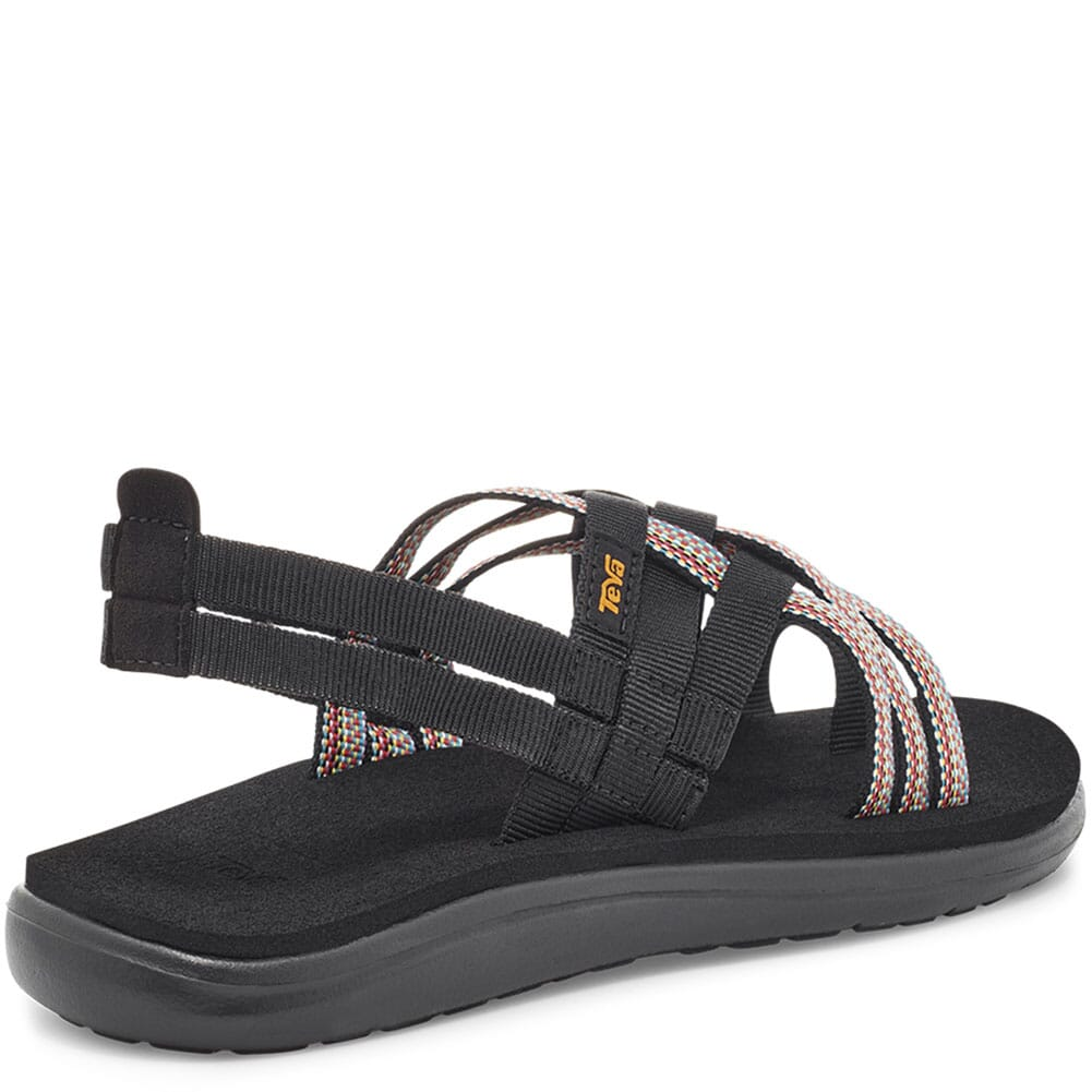 1099271-ABML Teva Women's Voya Strappy Sandals - Antiguous Black