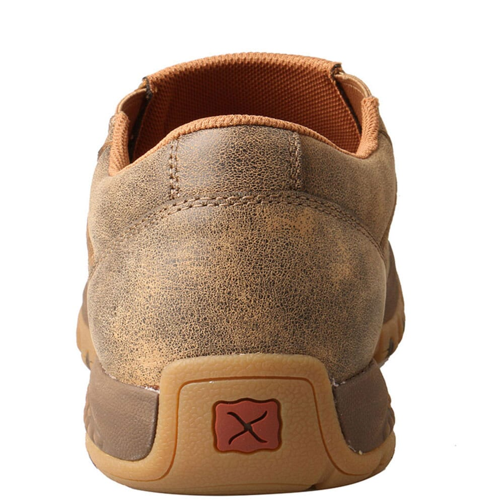 MXC0003 Twisted X Men's CellStretch Driving Moc Boat Slip On - Bomber