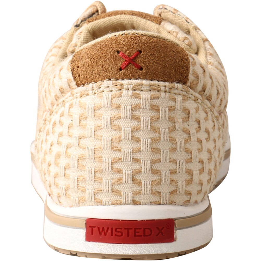 WCA0028 Twisted X Women's Kicks Casual Shoes - Sand Shell Tweed
