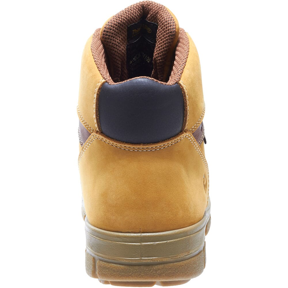 Wolverine Men's Barkley Work Boots - Gold Nubuc