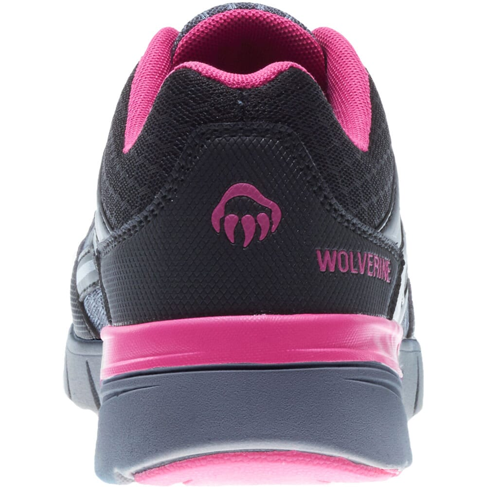 Wolverine Women's Jetstream Safety Shoes - Grey/Pink