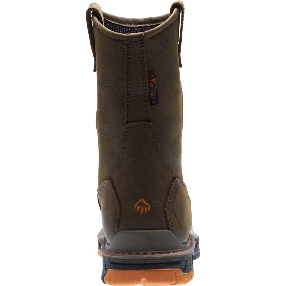 Wolverine Men's Overpass Safety Boots - Dark Coffee