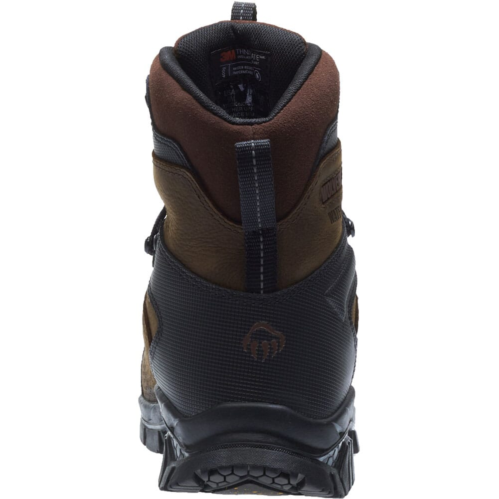 Wolverine Men's Glacier Xtreme Safety Boots - Brown