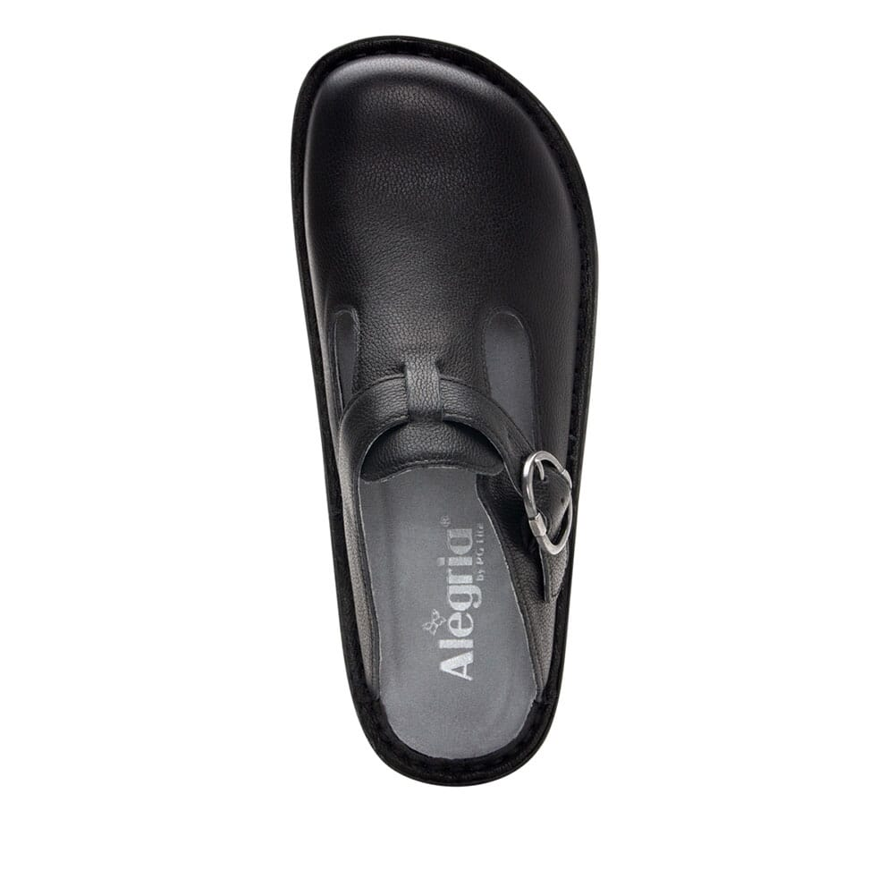 ALG-161 Alegria Women's Classic Upgrade Casual Clogs - Black