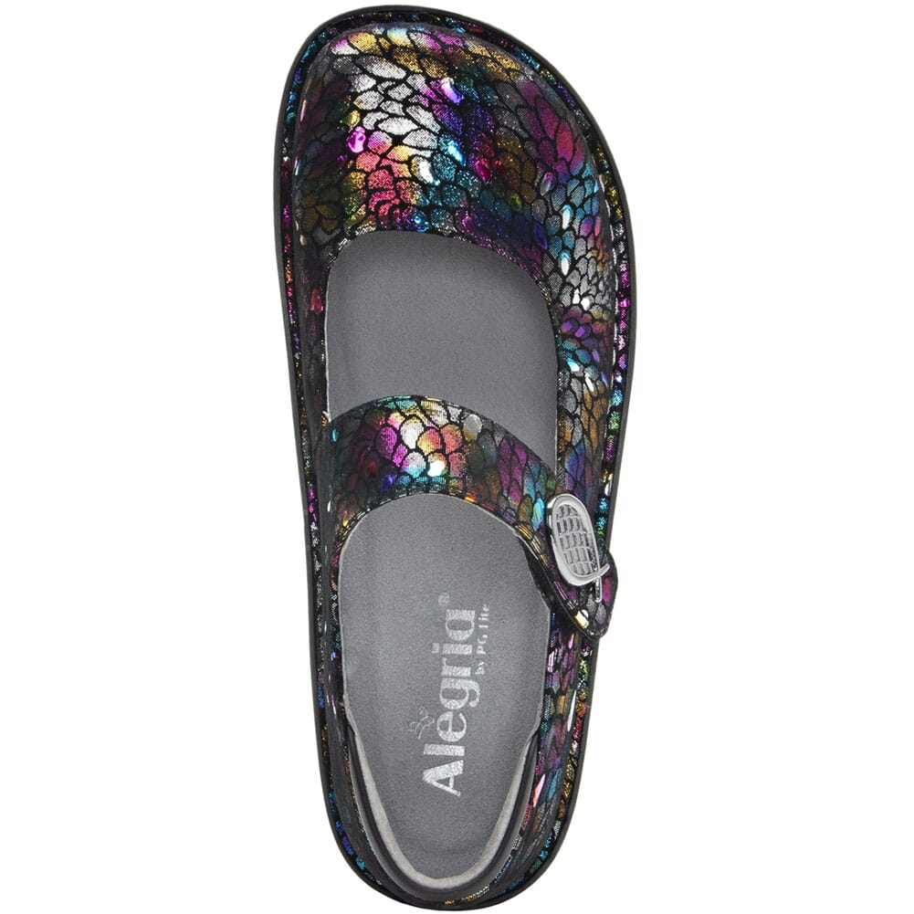 PAL-459 Alegria Women's Paloma Mary Jane Casual Shoes - Minnow Rainbow