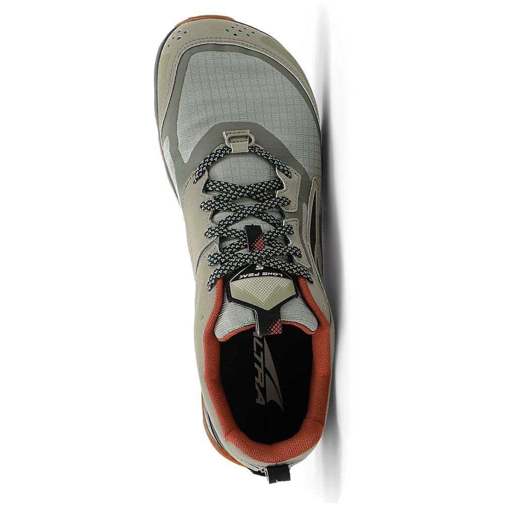 0A4VQE-017 Altra Men's Lone Peak 5 Low Running Shoes - Khaki