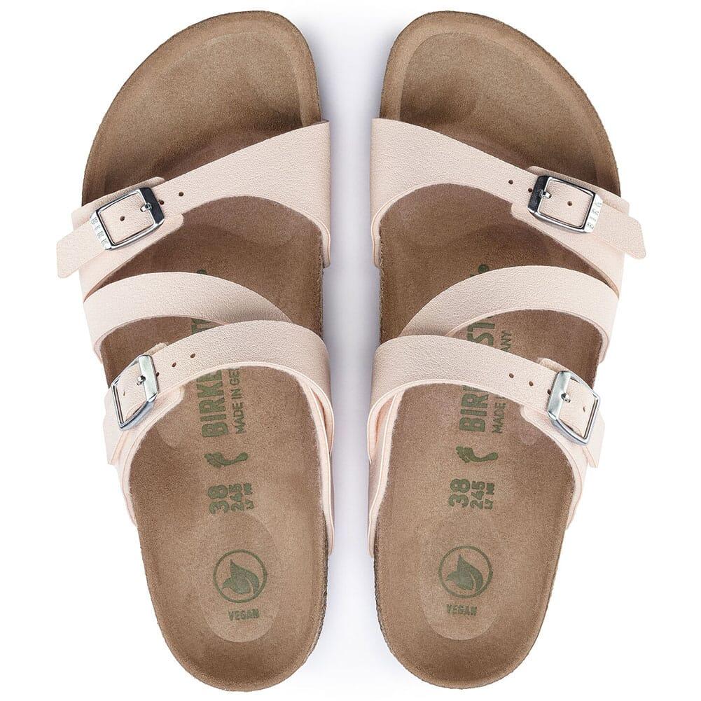 1019663 Birkenstock Women's Salina Vegan Sandals - Light Rose