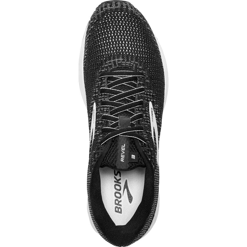 Brooks Men's Revel 3 Road Running Shoes - Black