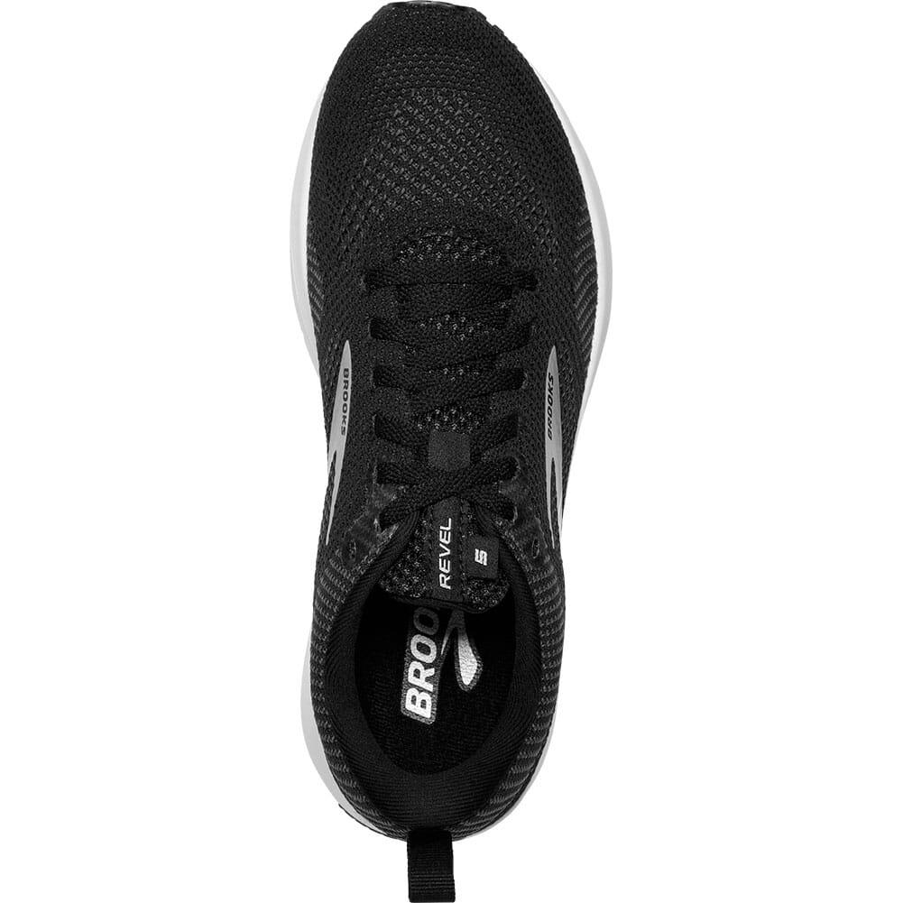 120361-036 Brooks Women's Revel 5 Road Running Shoes - Black/White