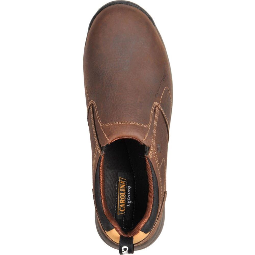 Carolina Men's ESD Safety Shoes - Brown