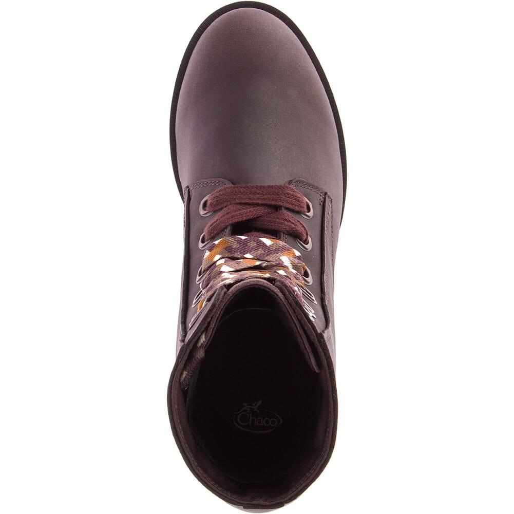Chaco Women's Cataluna Mid Lace Casual Boots - Mahogany