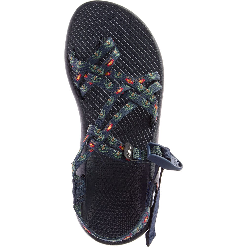 Chaco Women's ZX/2 Classic USA Sandals - Smokey Forest Navy