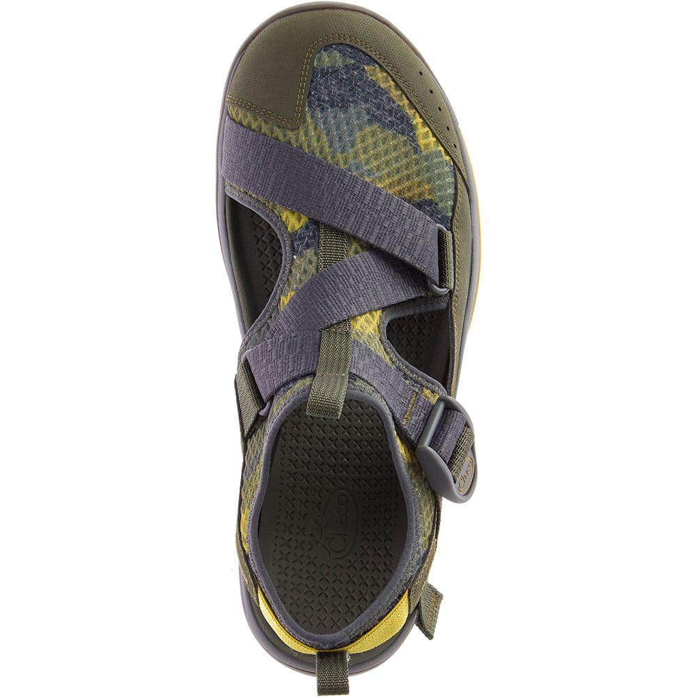 Chaco Men's Odyssey Print Sandals - Camo Olive