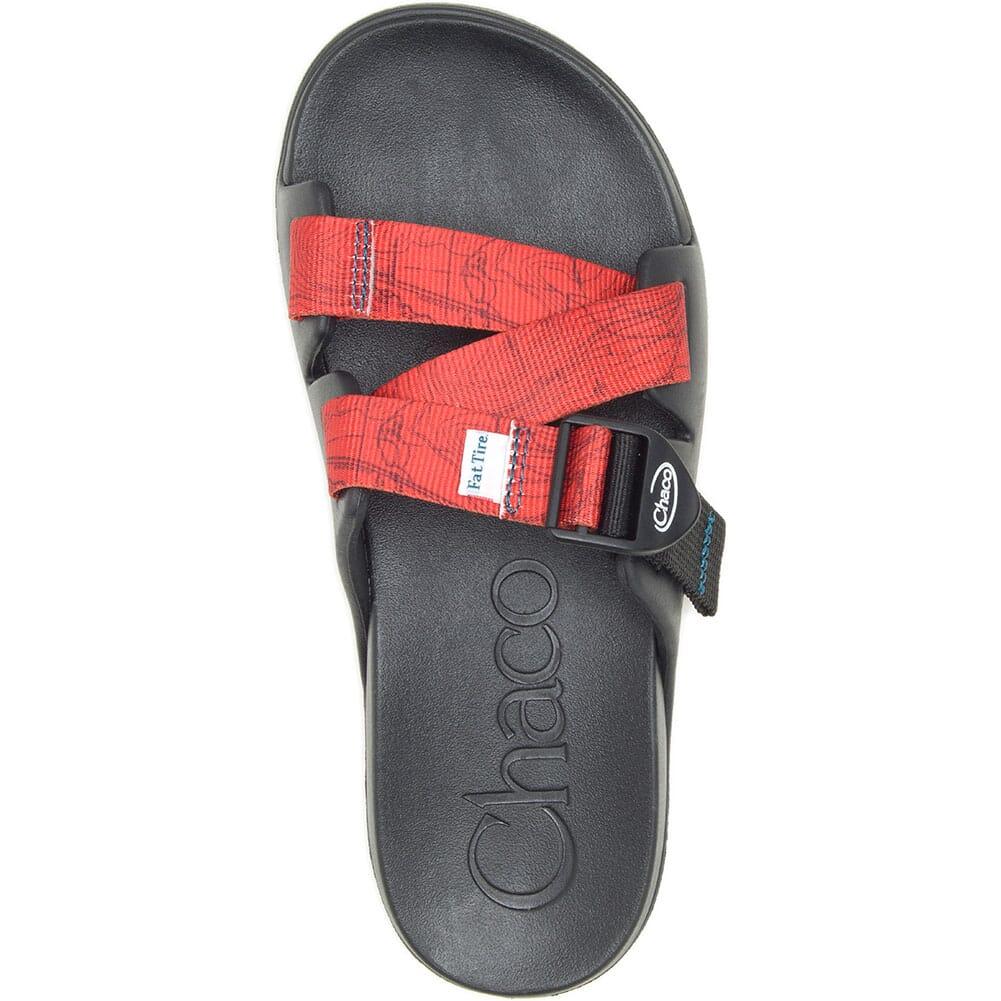 JCH108442 Chaco Women's Chillos Slides - Contour Black