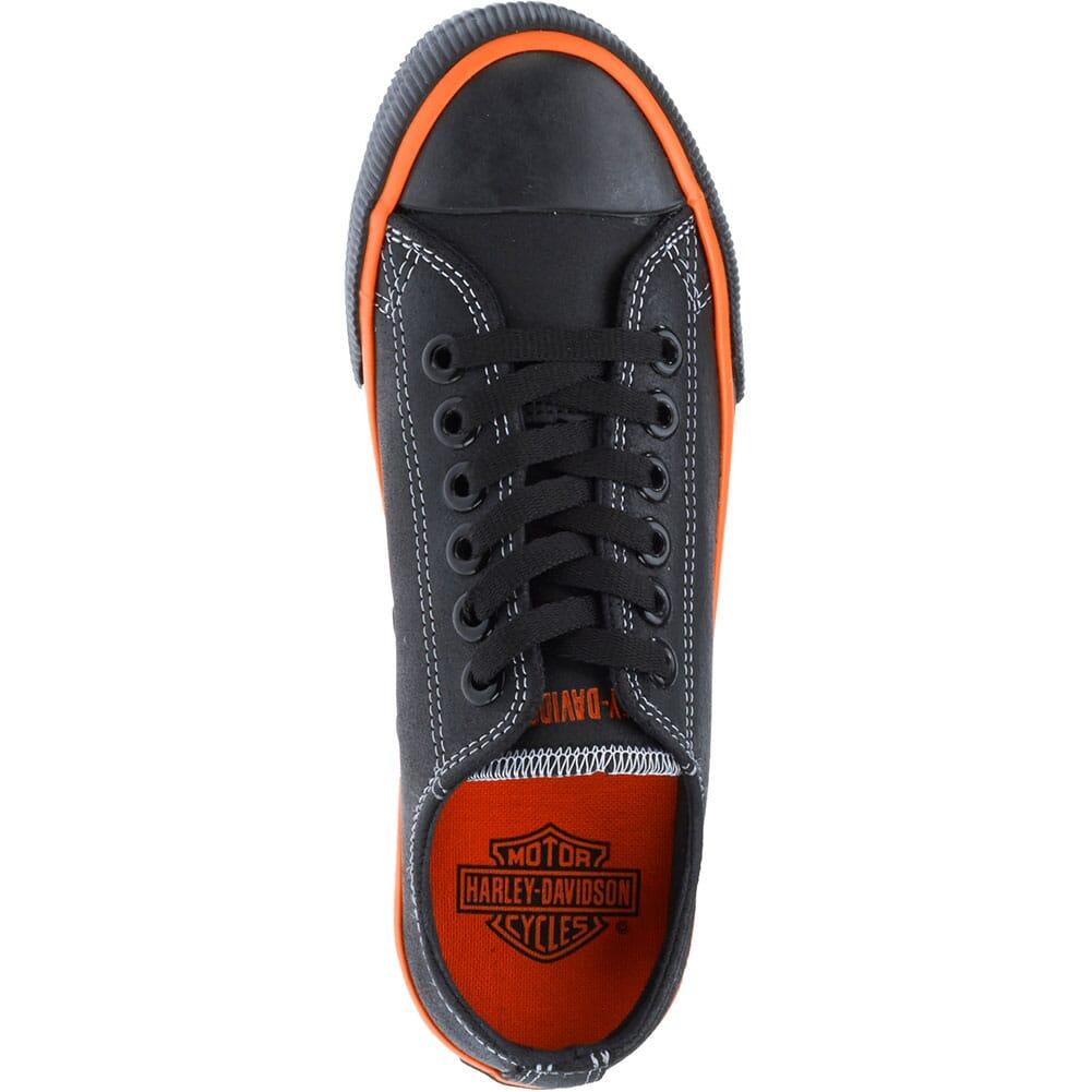Harley Davidson Women's Zia Casual Shoes - Black/Orange