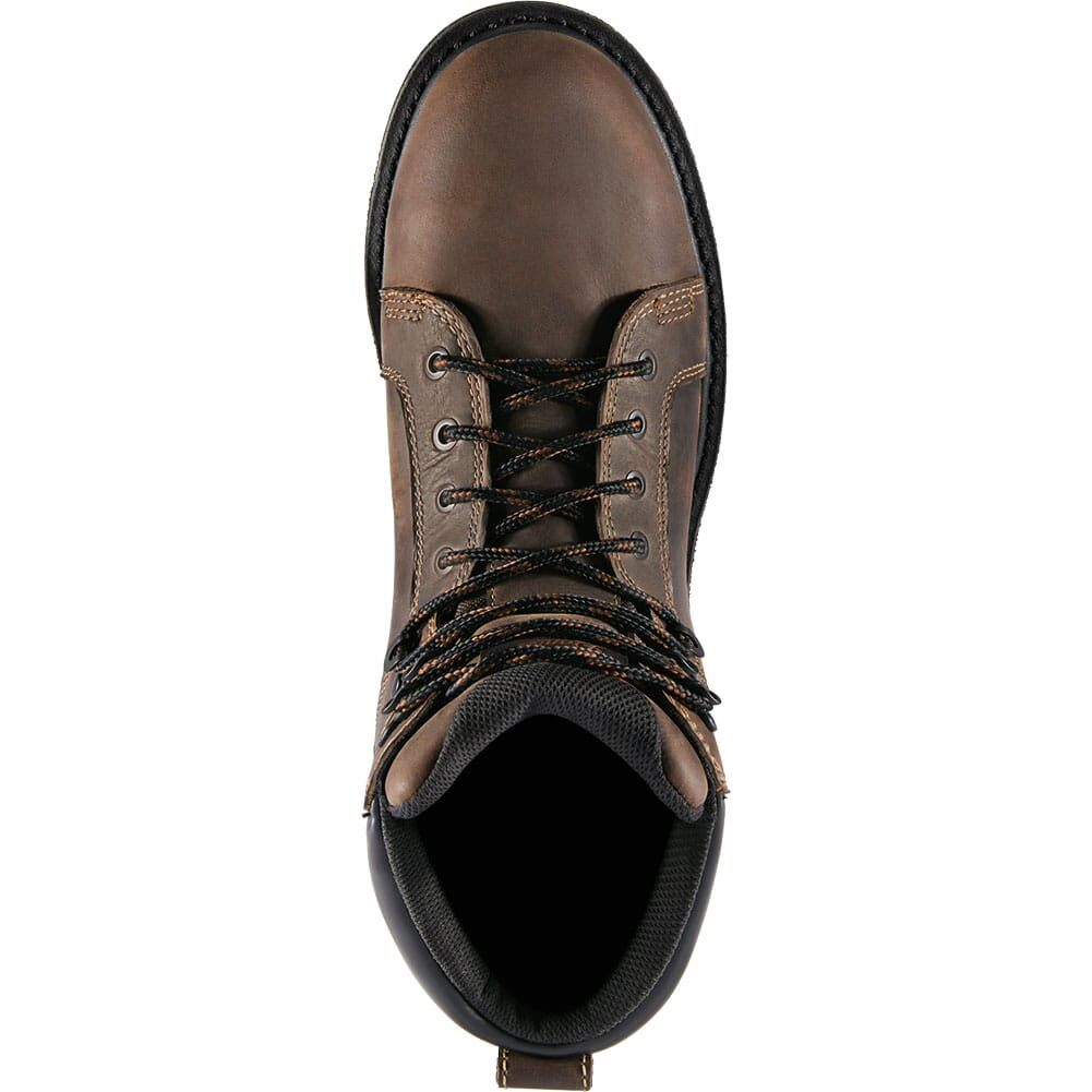 12537 Danner Men's Steel Yard Wedge Safety Boots - Brown